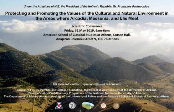 Protecting and Promoting the Values of the Cultural and Natural Environment in the Areas where Arcadia, Messinia and Elis Meet